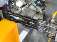 Photo M2081 shows a pair of DDGX2s in a thread verification application. There are a total of four of these in the station shown, each driven by a New Vista FLX Spindle Unit. You can see this in video VCTH10: