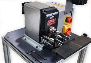 A picture of the PPT Bench-mounted Thread Verification/Remediation System.