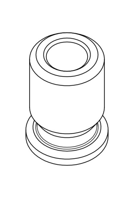 FP Taper Shank Adapter Size 2